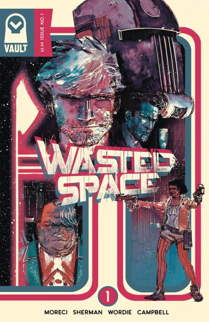 Wasted Space #1 Cover B Variant Hayden Sherman Cover