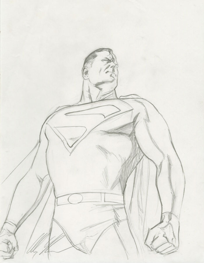 superman-poster-preliminary-sketch
