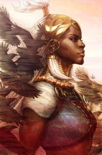 Black Panther Vol 7 #1 Cover J Incentive Stanley Artgerm Lau Virgin Cover