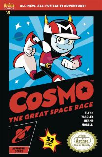 Cosmo #5 Cover B Variant Tracy Yardley Game Box Art Cover