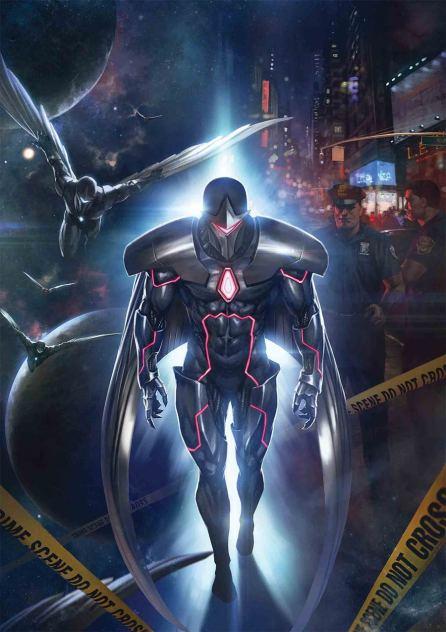 Infinity Countdown Darkhawk #1 Cover A Regular Skan Cover