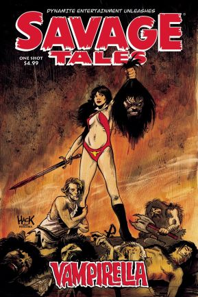 SAVAGE TALES VAMPIRELLA ONE SHOT #1