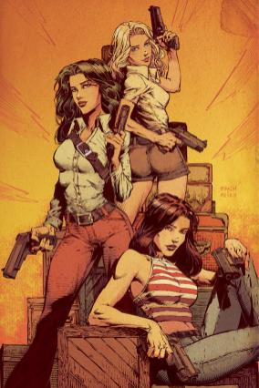 Charlies Angels #1 Cover E Incentive David Finch & Jimmy Reyes Virgin Cover