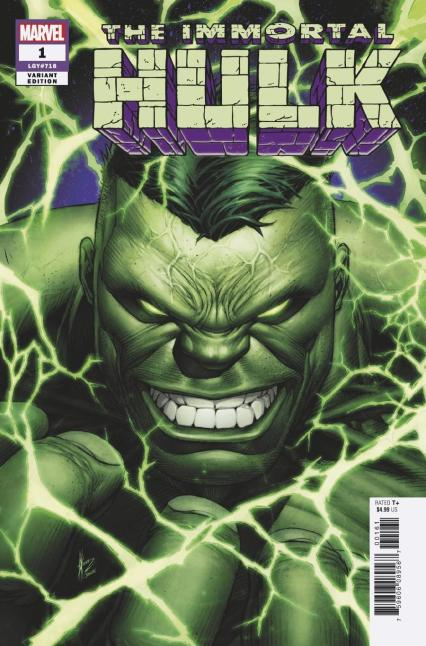 Immortal Hulk #1 Cover E Incentive Dale Keown Variant Cover