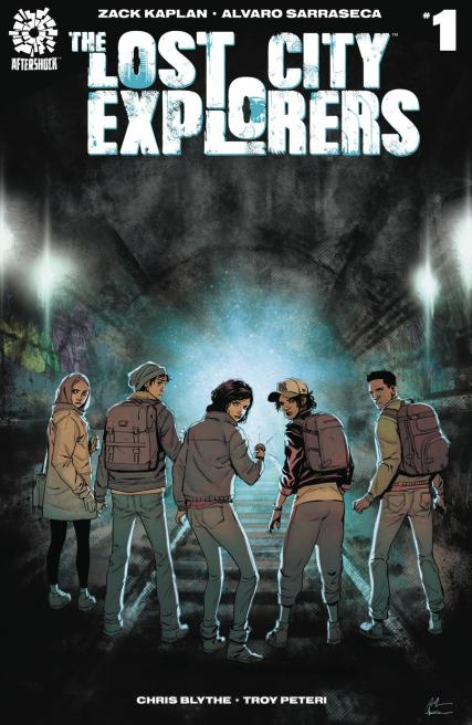 Lost City Explorers #1 Cover A Regular Rafael De Latorre & Marcelo Maiolo Cover