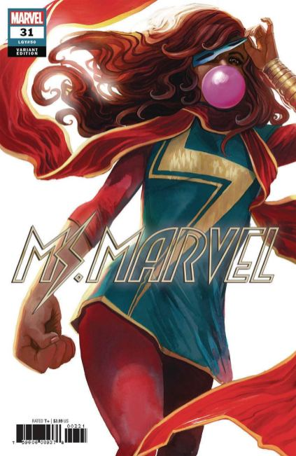 Ms Marvel Vol 4 #31 Cover B Variant Stephanie Hans Cover