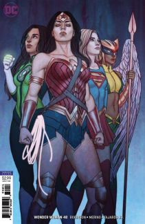 Wonder Woman Vol 5 #48 Cover B Variant Jenny Frison Cover