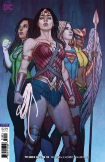 Wonder Woman Vol 5 #48 Cover B Variant Jenny Frison Cover