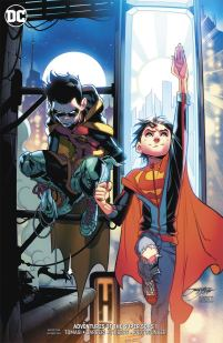 Adventures Of The Super Sons #1 Cover B Variant Jorge Jimenez Cover