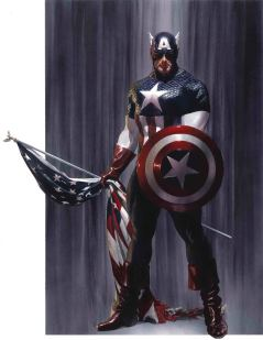 Captain America Vol 9 #2 Cover A Regular Alex Ross Cover