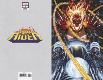 Cosmic Ghost Rider #1 Cover E Incentive Mark Brooks Virgin Cover