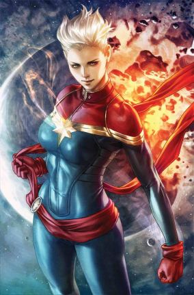 Life Of Captain Marvel Vol 2 #1 Cover H Incentive Stanley Artgerm Lau Virgin Cover