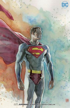 Superman Vol 6 #1 Cover C Variant David Mack Cover