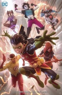 Teen Titans Vol 6 #21 Cover B Variant Alex Garner Cover