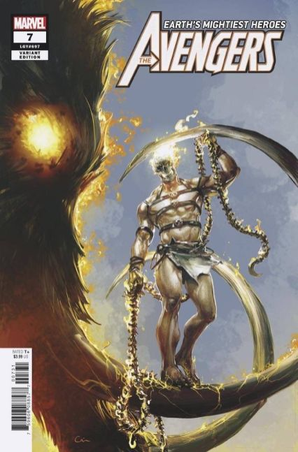 Avengers Vol 7 #7 Cover D Incentive Clayton Crain Variant Cover