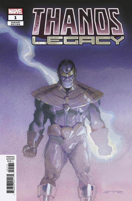 Thanos Legacy #1 Cover F Incentive Esad Ribic Variant Cover