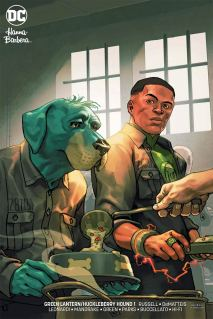 Green Lantern Huckleberry Hound Special #1 Cover B Variant Yasmine Putri Cover