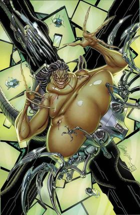 X-Men Black Mojo #1 Cover A Regular J Scott Campbell Cover