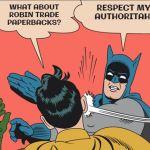 Batman Trades Bam! Sock! Kapow!