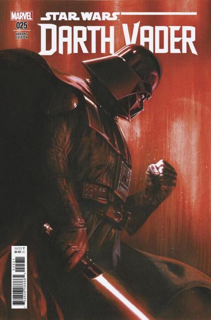 Darth Vader Vol 2 #25 Cover C Incentive Gabriele Dell Otto Variant Cover