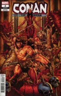 Conan the Barbarian #2 Incentive Brooks Variant
