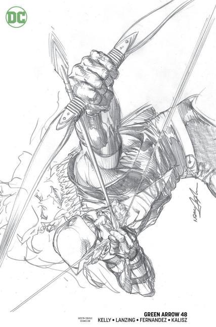 Green Arrow Vol 7 #48 Cover B Variant Neal Adams Cover