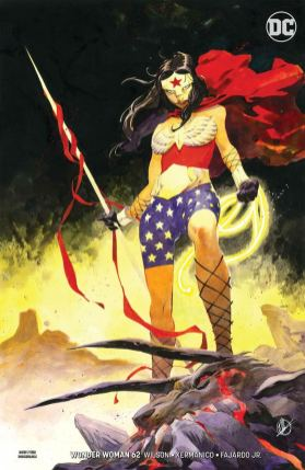 Wonder Woman Vol 5 #62 Cover B Variant Matteo Scalera Cover