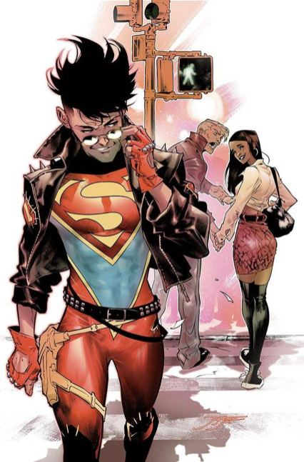 Young Justice Vol 3 #1 Cover F Variant Jorge Jimenez Superboy Cover