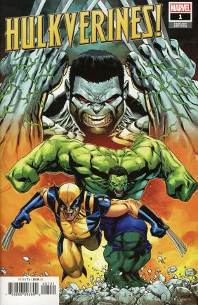 Hulkverines #1 Cover C Incentive Cory Smith Variant Cover