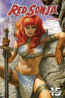 Red Sonja Vol 8 #1 Cover N Incentive Joe Jusko Painted Sneak Peek Variant Cover