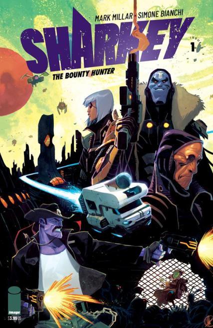 Sharkey The Bounty Hunter #1 Cover D Variant Matteo Scalera Cover