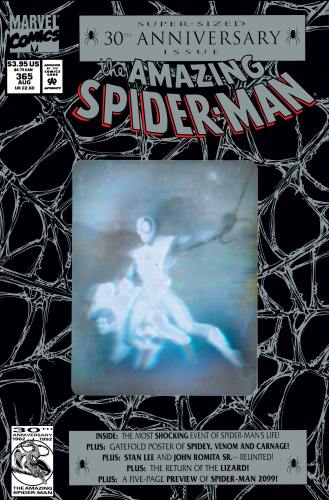 Amazing Spider-Man 365 Cover