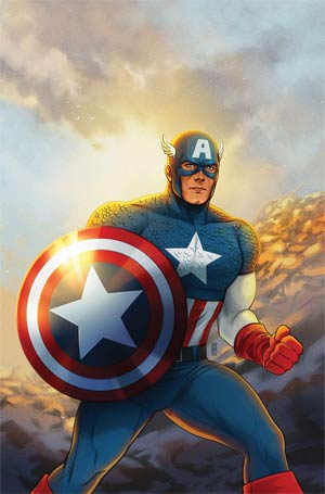 Marvel Tales Cap America Virgin Var