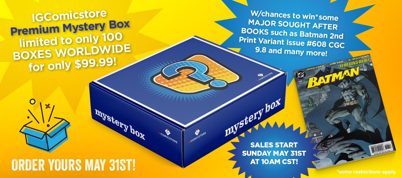 Igcomicstore Premium Mystery Box Cbsi Comics
