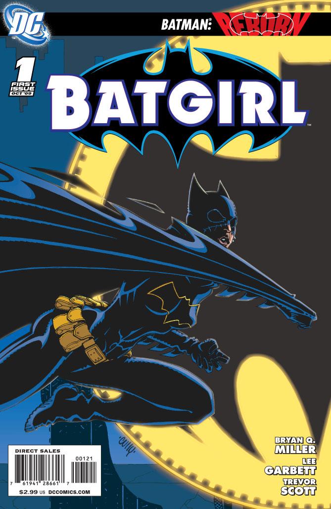 Batgirl #1 Variant Cover