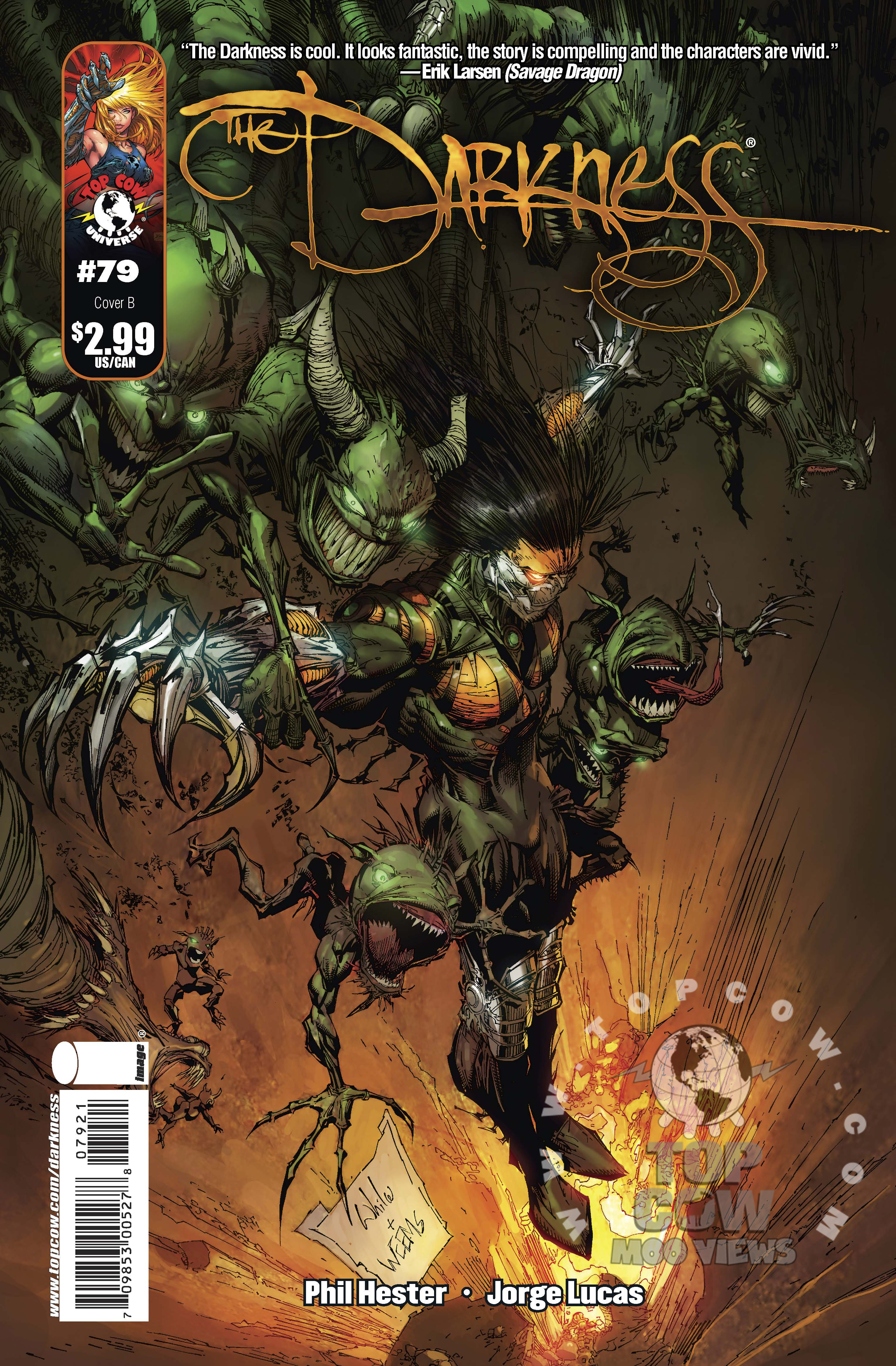 The Darkness #79 Cover B
