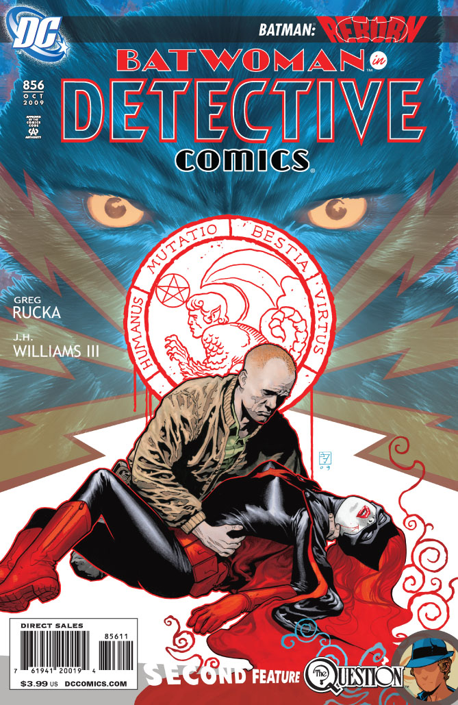 Detective Comics #856 Cvr
