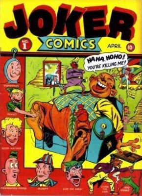 Image result for joker comics #1 timely