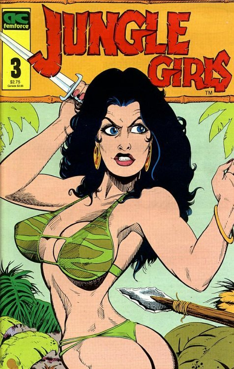 Image result for ac comics jungle girls