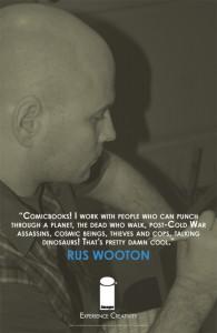 Rus Wooton at work
