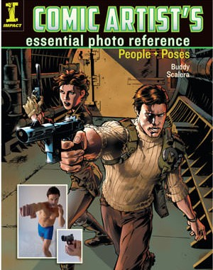 Comic Artist's Essential Photo Reference: People & Poses book cover image