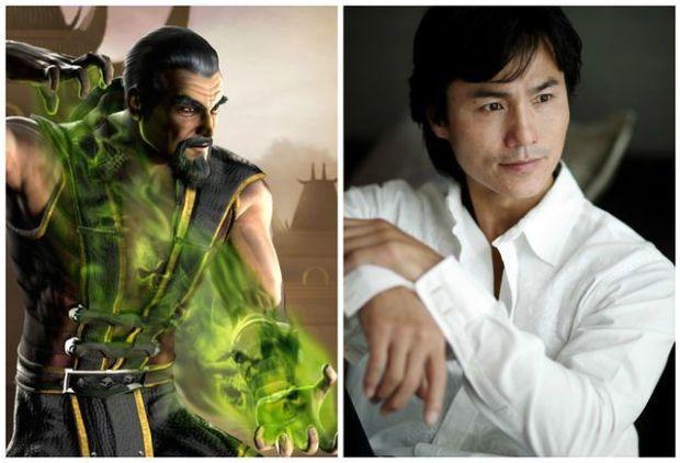 1. Shang Tsung - Robin Shou