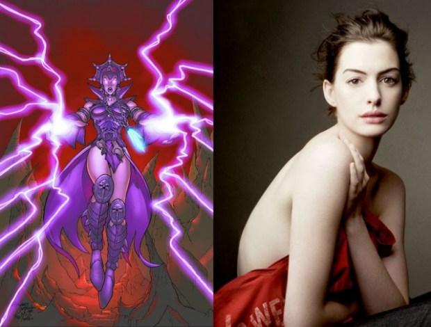 He Man Reboot Movie - Anne Hathaway as Evil-Lyn