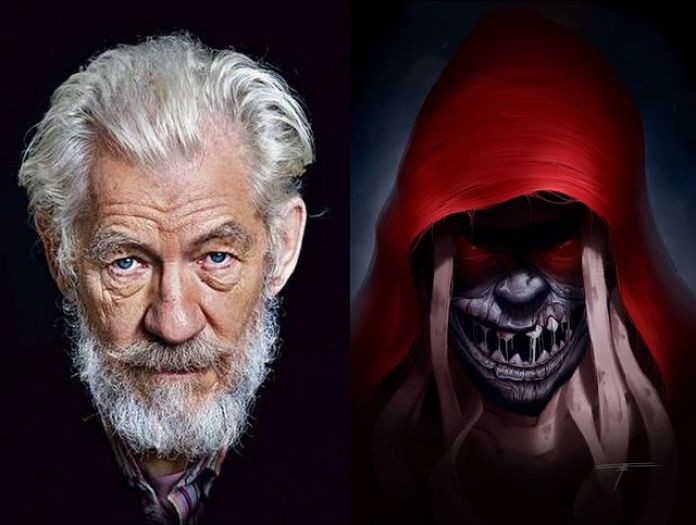 Sir Ian McKellen as Mumm-Ra