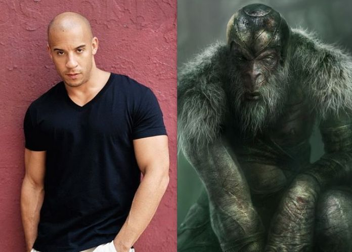 Vin Diesel as Monkian