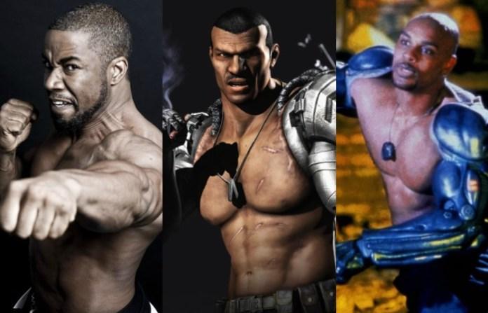 Michael Jai White as jax Mortal Kombat Movie