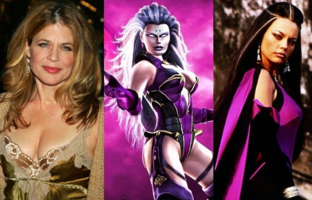 Linda Hamilton As Sindel - Mortal Kombat Movie