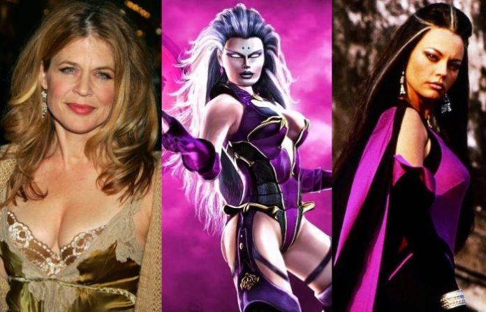 Linda Hamilton As Sindel - Mortal Kombat Movie