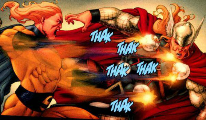 5 Marvel Superheroes Who Can Beat Hulk Thor To Pulp Cbg