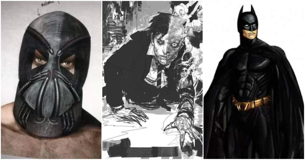 The Dark Knight Trilogy Eye Popping Concept Art Cbg